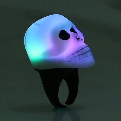 Leuchten im dunklen Schädel-Kopfart Finger-kühlen Ring