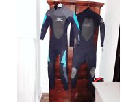 womens size 8 wetsuit x2 or can be sold individually