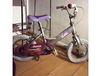 Dawes Lottie 14 inch wheel girls bike. Toddler