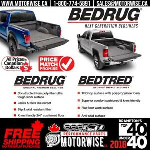 BedRug | Bedliners & Mats | Truck, Van & Jeep | In Stock Ready to Ship & Free Shipping Canada Wide at www.motorwise.ca