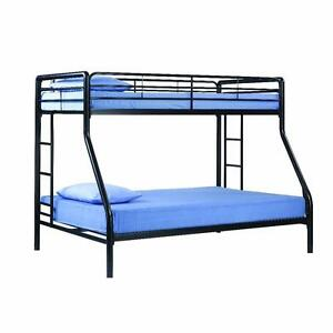 BLACK FRIDAY SPECIAL! TWIN OVER FULL ELEGANCE METAL BUNK BED