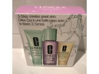 Clinique 3 step-Skin Type 2 gift set