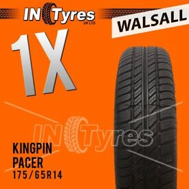 1x 175/65R14 Technic Pacer Tyre 175 65 14 Fitting is Available Tyres x1