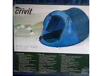 Pop up tent 2 man new