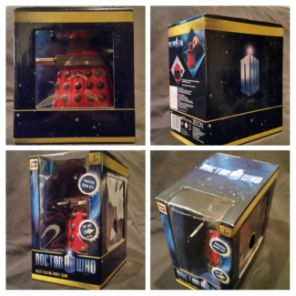 Doctor Who Red Dalek Talking Money Box Newtown Inner Sydney Preview