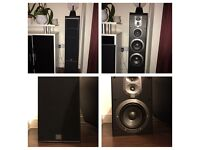 5.1 JBL Home Cinema Speakers + ONKYO 7.2 Receiver 3D and 4K video upscale