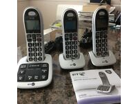 Big button cordless phone bt4500