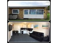 Superb high end holiday chalet for hire in Hemsby, Great Yarmouth.