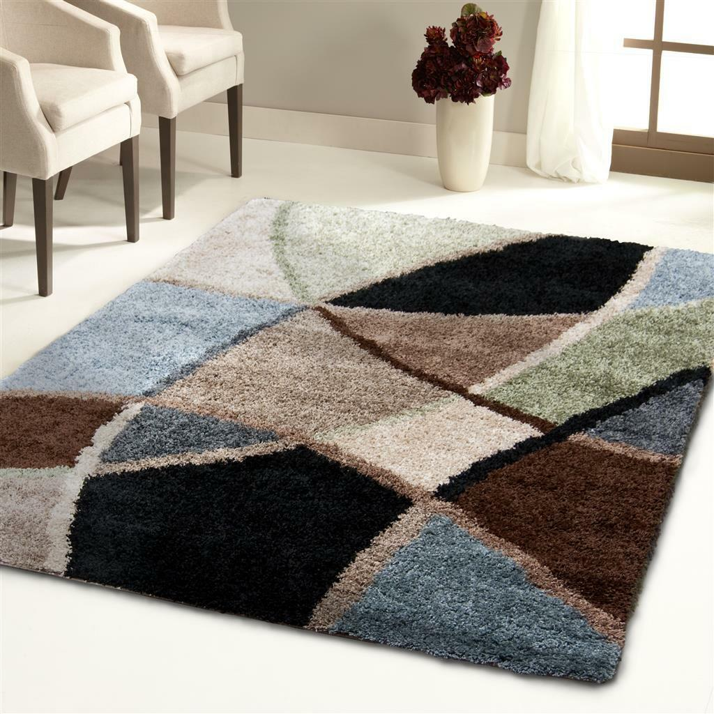Rugs area rugs carepts 8x10 shag rug living room big - Living room area rugs contemporary ...