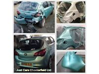 Auto Body Repair, Full or Partial Vehicle Respray, Paint Scratches and Marks- Just Cars Chesterfield