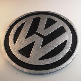 VW Volkswagen - Heavy Cast Iron Signs