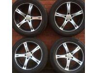 17 inch alloy wheels and tyres Nissan Qashqai Juke rims alloys Hyundai Mazda Kia Lexus Honda Toyota
