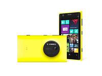 Nokia Lumia 1020 - 41mp Camera - 32gb Factory Unlocked - Yellow - Super Condition