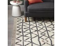 Sold out West Elm Torres wool Kilim rug
