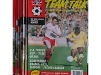 Job Lot of old Non-League 90's Football Magazines