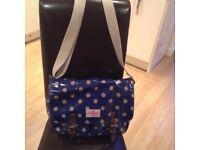 Cath Kidston oil satchel bag