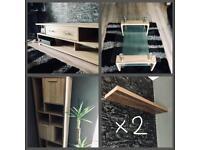 New OAK effect livingroom furnitures