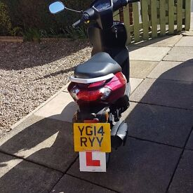 Peugeot Kisbee 50cc Scooter/Moped 2014 Low Mileage