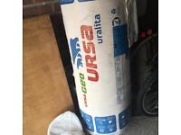Roll of loft insulation