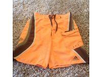 Adidas men's board shorts