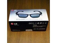 LG AG-S350 Active 3D Glasses for 3D Plasma TVs NEW