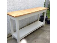Kitchen Console Table/Freestanding worktop