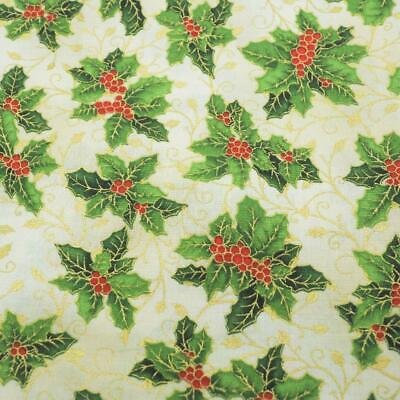 Holiday Classics RJR Fabrics Quilting Fabric Pattern 1yd + 32