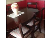 6 seat dining table get good condition