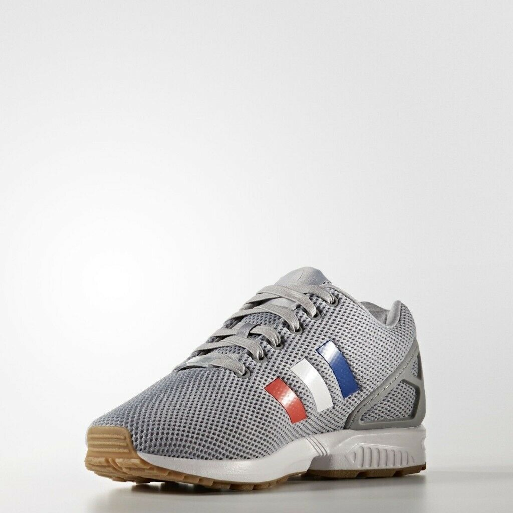 7cfd75509 Brand New in Box Adidas original ZX Flux Torsion Running Shoes Men s Grey  Tri-color SIZE 9.5