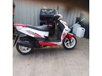 2013 Sym Jet 4 125cc scooter -- 12 months MOT