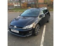 Volkswagen Golf 2.0 TDI BlueMotion Tech GT Hatchback 3dr (start/stop) Low miles, Excellent condition