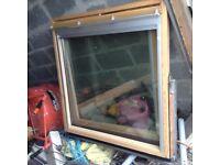 2 big velux windows used ggls06 £1200 new combined