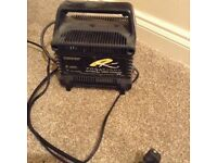 Powakaddy battery charger with battery PLUS trolley!