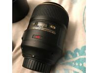 Nikon 105mm f2.8 macro micro lens