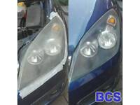 Mobile car spa to your door! Headlight restoration, upholstery cleaning, valeting