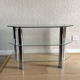Glass TV Stand for sale Newtownabbey.