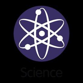 Physics/Chemistry/Biology/Maths/Medicine Tutor