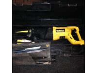 Dewalt recipucating saw