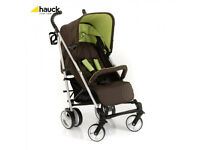 BRAND NEW IN BOX HAUCK SPIRIT UMBRELLA FOLD BUGGY PRAM PUSHCHAIR STROLLER IN KIWI BIRTH TO 3 YEARS