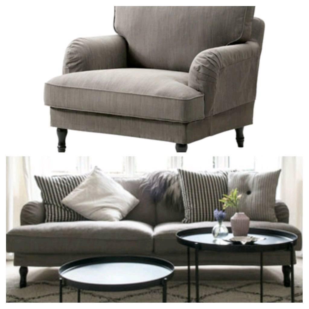 Corner Sofa Sale London: Ikea Stocksund 3 Seater Sofa