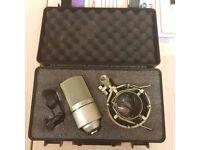 Samson MXL 990 condenser studio mics x4