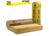 Isover Acoustic Partition Insulation Roll Wall Floor Loft Roll   25mm 50mm 65mm 75mm 100mm