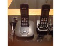 Twin Panasonic Cordless Phone