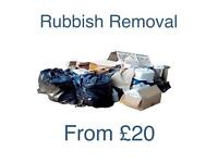 Rubbish Clearance/ Rubbish Removal in Maidstone/ Ashford/ Tunbridge Area. Prices from £20