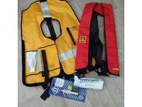 "Crewsaver ""Crewfit"" life jackets"