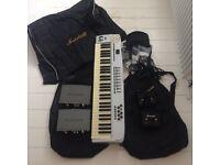Job Lot Music Equipment m audio, Marshall, keyboard