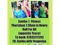 ZUMBA Fitness classes in NEWRY