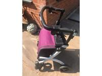 Walking aid/seat excellent condition