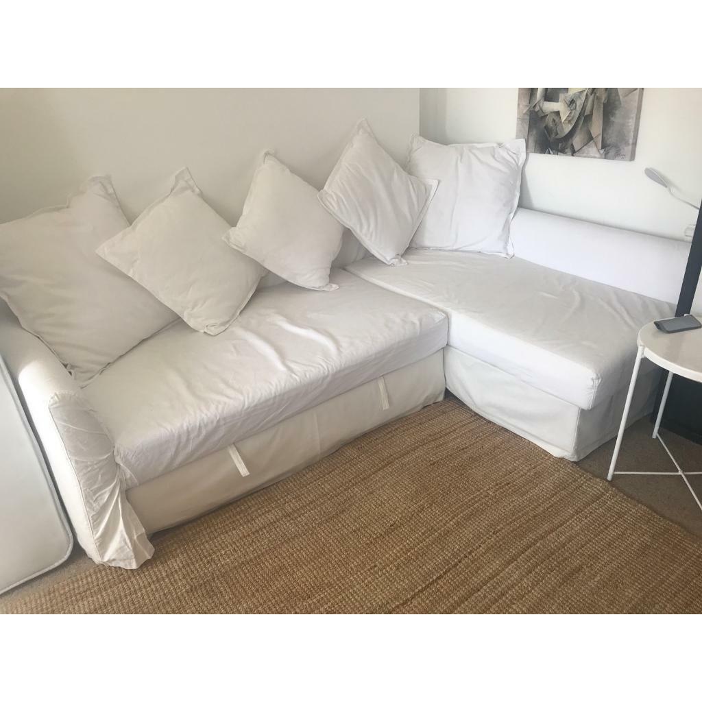 White corner sofa bed   in Earls Court, London   Gumtree