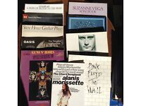 Collection of 10 song books.